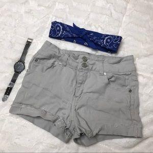 Refuge Gray Shorts